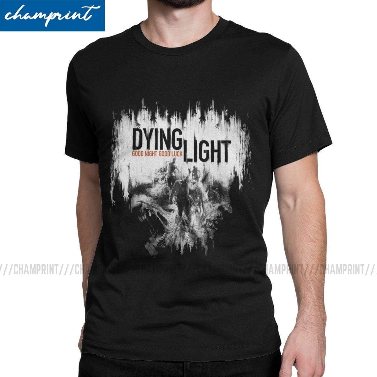 Novedosa camiseta con diseño de Zombie Running, Camiseta de algodón con cuello redondo para hombre, camiseta de manga corta, ropa de regalo