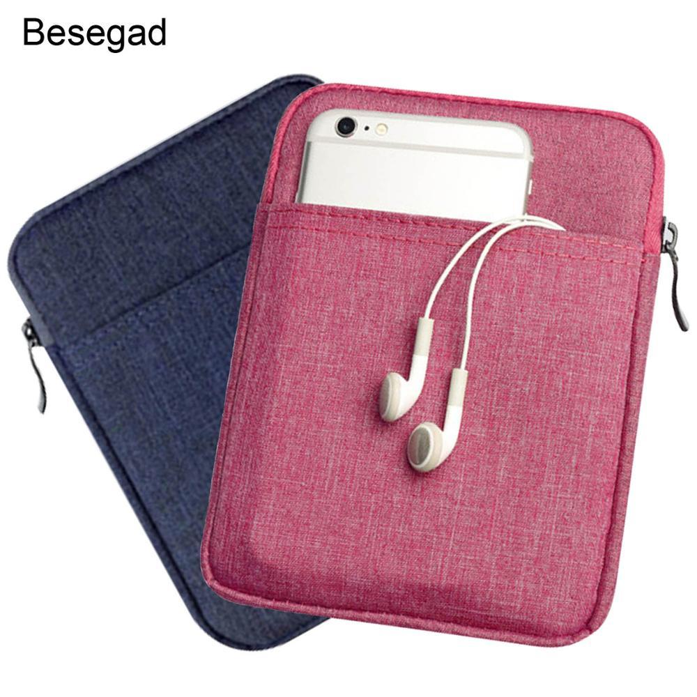 "Besegad, funda a prueba de golpes de 6 "", bolsa, funda de bolsillo para Kindle Paperwhite 2 3 Kindle 8, funda de viaje Ebook para Amazon 6 pulgadas"