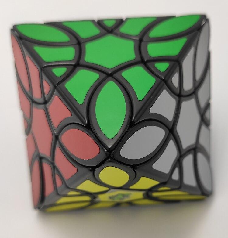Lanlan Octahedron Trevo Preto Cubo Magico
