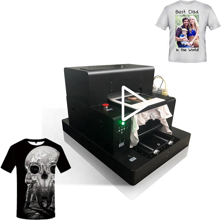 Newest 2020 a3 tshirt printer machine to print to shirts garment machine price