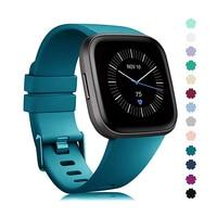 Ремешок для умных часов Fitbit Versa/Versa2/Lite, сменный силиконовый спортивный браслет для наручных часов Fitbit Versa 2