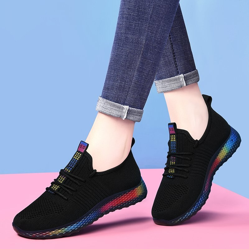 Tenis Feminino 2020 New Autumn Women Tennis Shoes Comfort Sport Shoes Women Fitness Sneakers Athletic Shoes Gym Footwear