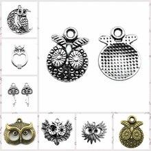 Componentes de Malzahar para la fabricación de joyas, creación de joyas, accesorios de joyería, amuletos, cabeza de búho
