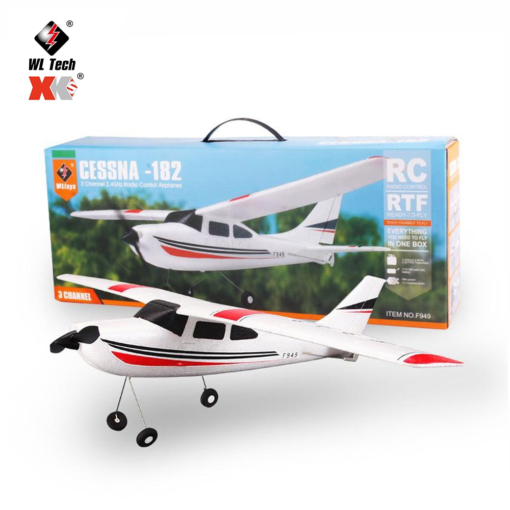 WLtoys F949s Sky King 2.4G RC Airplane Fixed-wing RTF Plane Radio Control 3CH RC Drone Fixed Wing Plane VS F929 RC Aircraft Toy enlarge