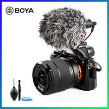 BOYA BY-MM1 micro denregistrement vidéo Compact VS Rode VideoMicro micro denregistrement sur caméra pour Sony A7 A9 A7S2 A7R2 A7III A7R3 A7M3