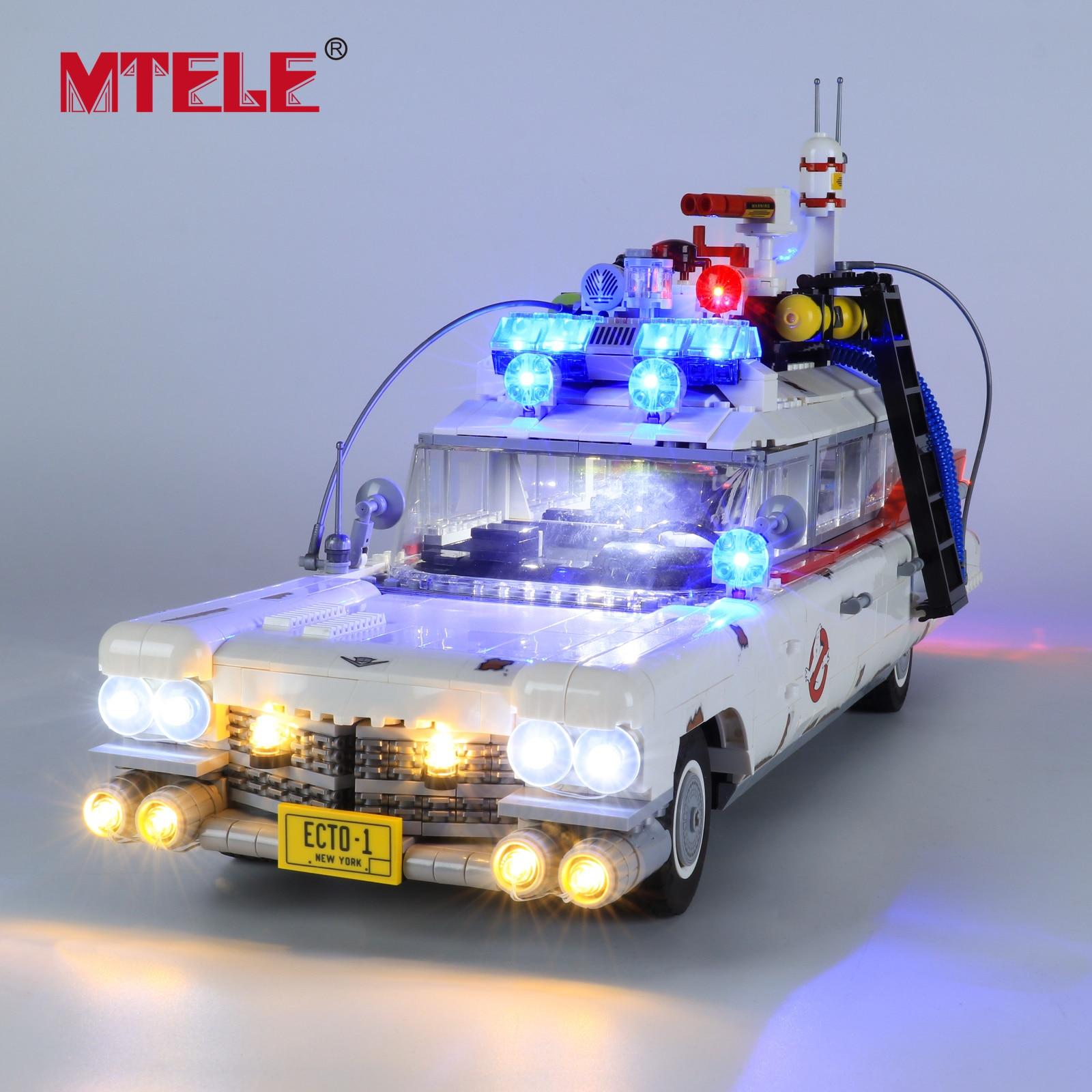 Фото - MTELE Brand LED Light Kit For 10274 Ghost Busters ECTO-1 printio лонгслив ghost busters