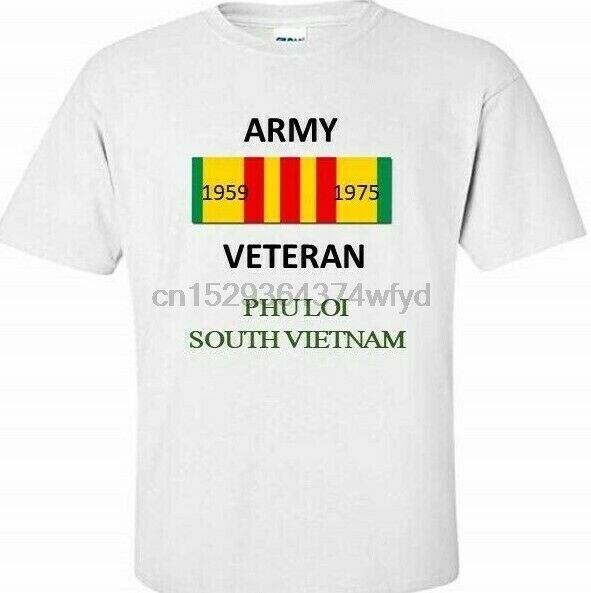 PHU LOI  SOUTH VIETNAM  ARMY VIETNAM VETERAN RIBBON 1959-1975  SHIRT