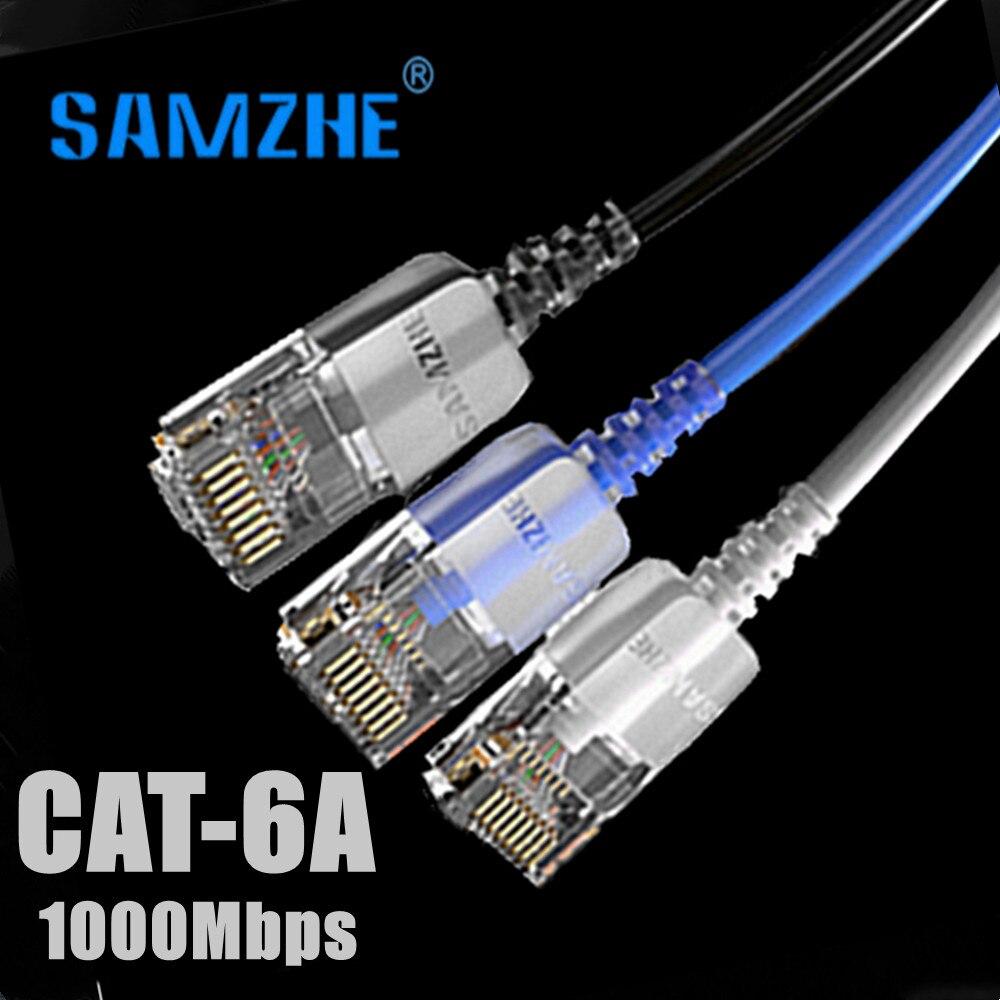Cable Ethernet Cat6A Lan UTP CAT 6a RJ 45, Cable de red...