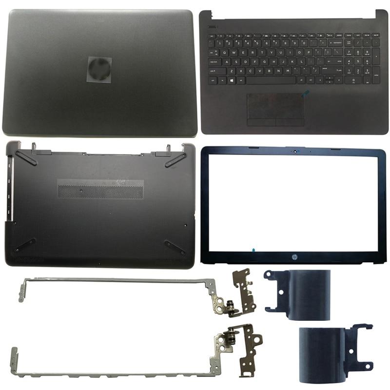 NEW Laptop LCD Back Cover/Front Bezel/Hinges/Palmrest/Bottom Case For HP 15-BS 15-BR 15-BW 15T-BR 15-BS 15Z-BW 924899-001 new for hp 15 bs 15 br 15 bw 15t br 15 bs 15z bw laptop lcd back cover front bezel hinges palmrest bottom case 924899 001