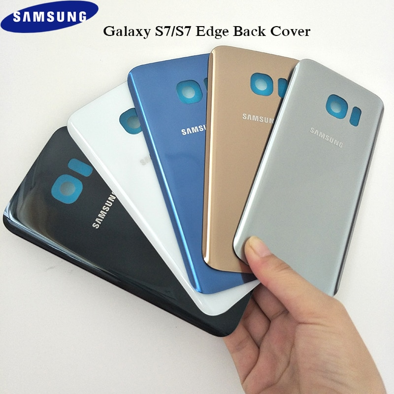 Official Original Battery Back Cover Samsung Galaxy S7 / S7 edge  Door Rear Housing Replacement Prot