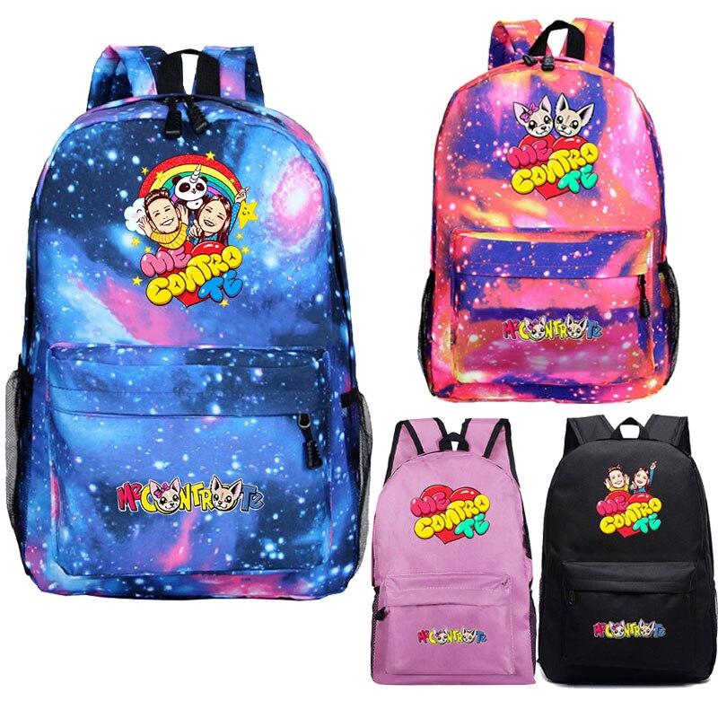 Горячая Распродажа мне contro Te рюкзак для мальчиков-школьников, школьный рюкзак для девочек, красивый узор рюкзак для подростков дорожные сум...