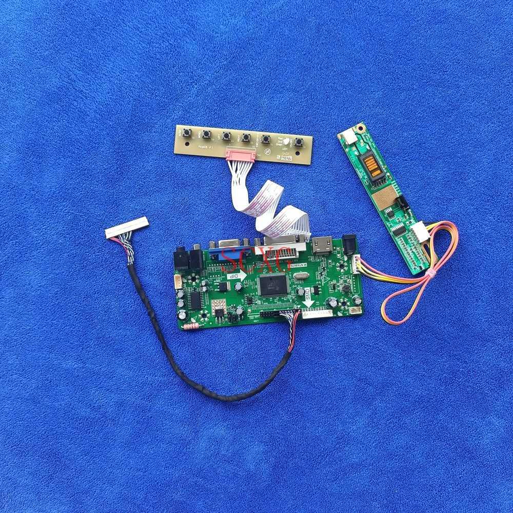 LCD مصفوفة لتقوم بها بنفسك عدة 30 دبوس LVDS 1CCFL ل LP154WX2-TL01 LP154WX5-TLA1/TLB1/TLC1 HDMI-متوافق DVI VGA المراقب مجلس 1280*800