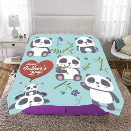 Colcha de panda de dibujos animados Coral polar, Sábana de animales, manta de felpa de gran tamaño para sofá, manta de viaje de dibujos animados