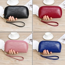 Women Wallets Long Style Multi-functional Wallet Purse Pu Leather Female Clutch Coin Purse Card Hold
