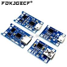 TP4056 Con Protezione Dual Funzioni 5V 1A Mini Micro TYPE-C USB 18650 Batteria Al Litio Ricarica Consiglio Modulo Caricatore 1A li-ion