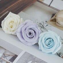 Pendentif domestique en verre Mei Mr Zhang   3-4cm en vrac, 10 fleurs, classe A Love éternel, matériel de bricolage automobile
