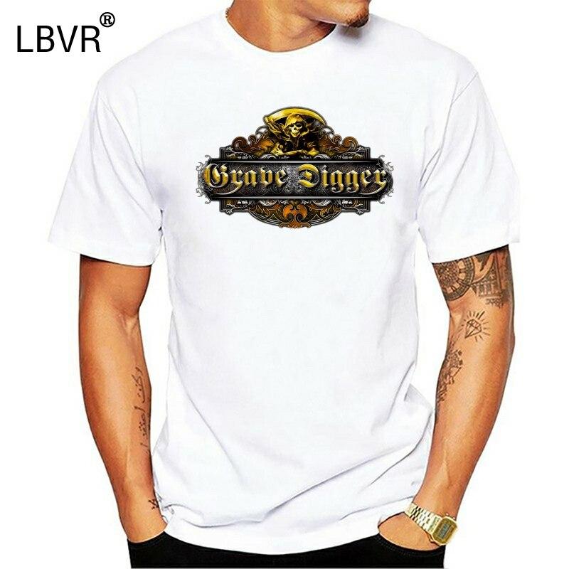 GRAVE DIGGER Deutsch Schwere Metall Band T-shirt Blinde Wächter Größe XS S M L XL 2XLknitted komfortable stoff
