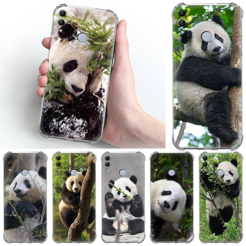 Funda de teléfono con diseño de Panda para Huawei Honor 9X Pro,...