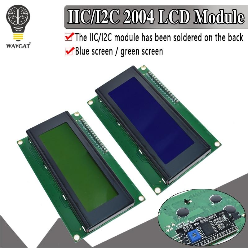ЖК-модуль с голубой и зеленой подсветкой для Arduino UNO R3 MEGA2560 20X4 LCD2004