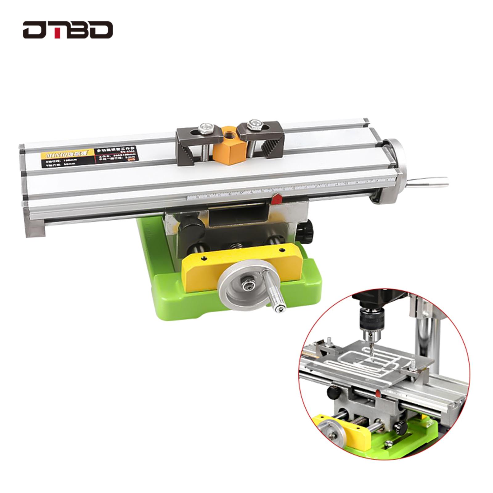 MINIQ Multifunction Drill Vise Fixture Working Table Mini Precision Milling Machine Worktable