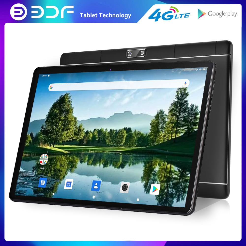 2021 New 10 Inch Tablet Android 9.0 Octa Core 4G LTE Phone Call 2GB + 32GB Duall SIM Card WiFi Bluetooth GPS Tablets Pc Kids tab 10 1 inch octa core android 9 0 tablets 4g lte phone call tablet pc 2gb ram 32gb rom wifi google play gps dual sim card 1280 800