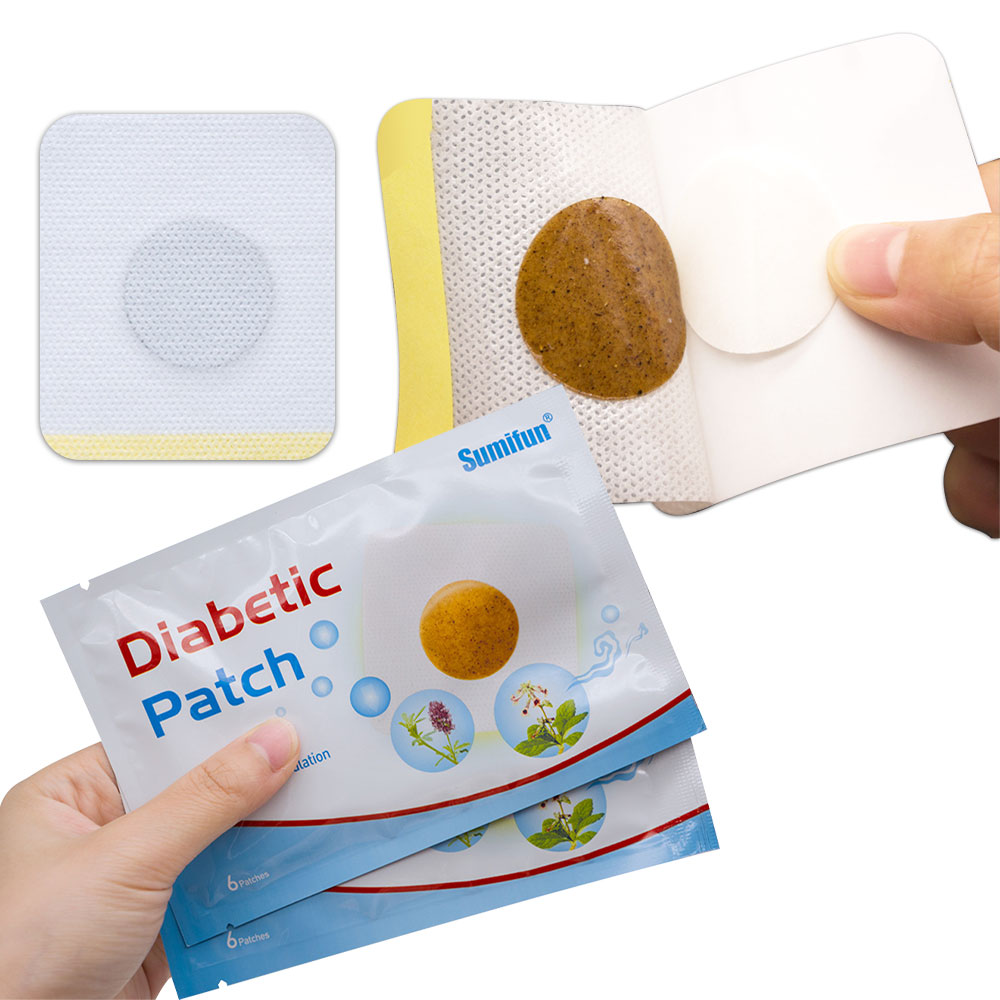 Patch for Diabetes Patch Chinese Natural Herbal Medications Treatment Cure Diabetes Reduce High Blood Sugar Product