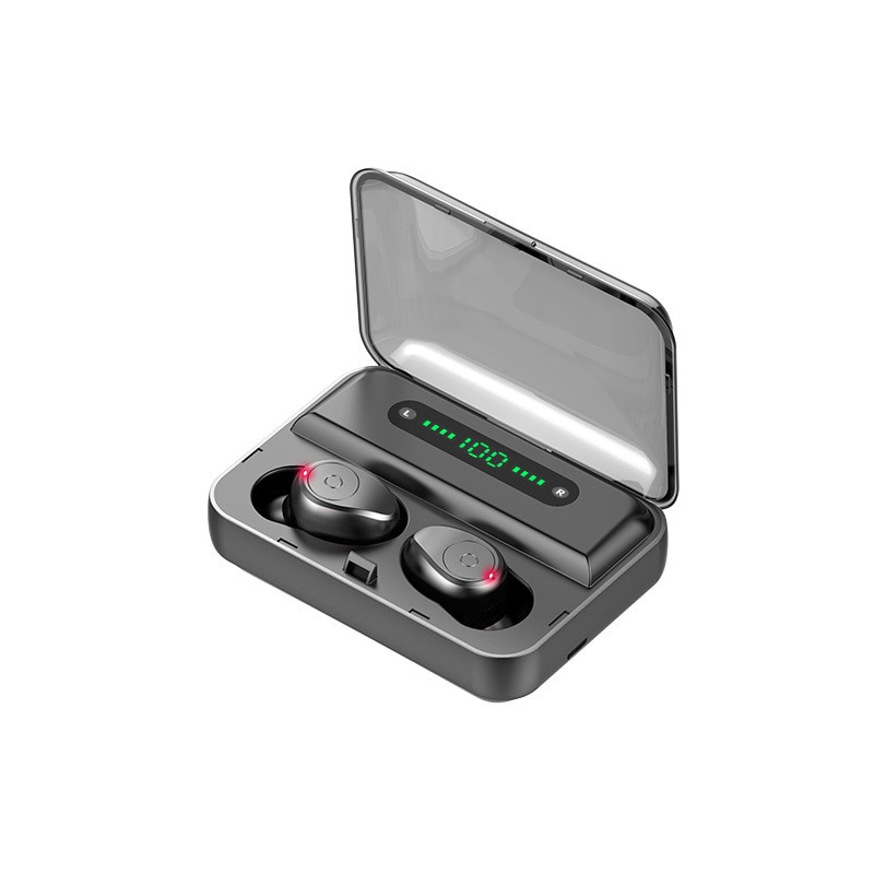 F9-5 TWS Bluetooth True Wireless Earphones HiFi Sport Earbuds Earpods In-Ear Pods For iPod iOS Android