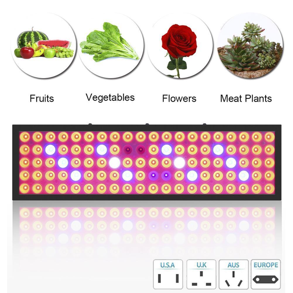 Nuevo listado de ventas calientes 3000W LED crece la luz hidropónica de espectro completo de interior de la planta de verduras Panel de la lámpara 3000W crece las luces de la planta Accesorios