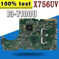 x756uv motherboard i3 7100u gt940m for asus x756u x756uxm k756u laptop motherboard x756uv mainboard x756uv motherboard test ok