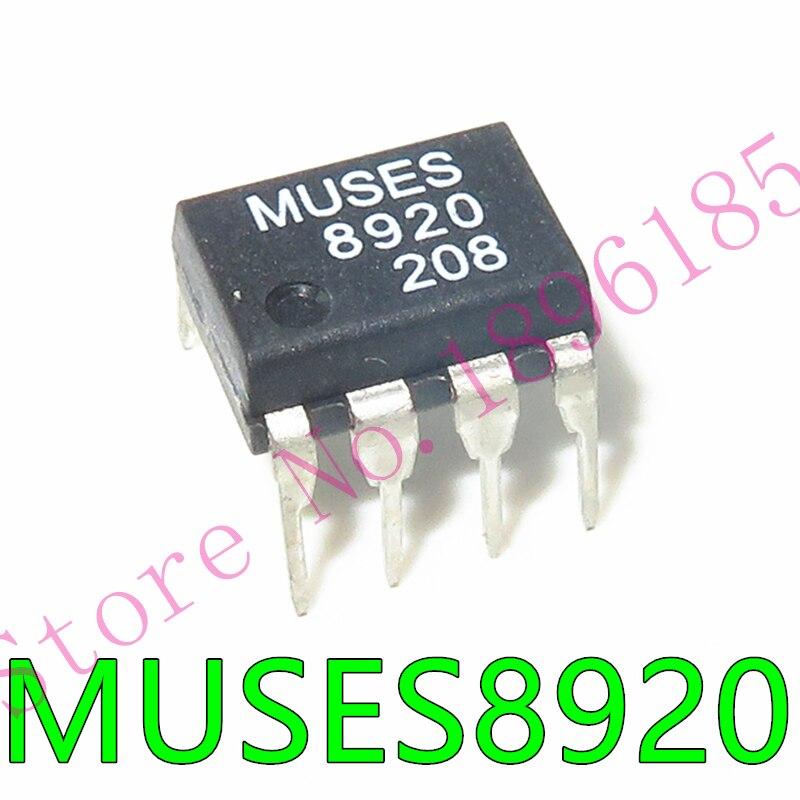 Las Musas 8920 MUSES8920 MUSES8920D de audio de entrada FET de op-amp DIP-8