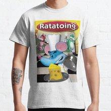 Ratatoing Teenager Girls/Boys Funny T-shirt T Shirt Summer Hip Hop Tee Shirt Casual O Neck Tshirt Fo