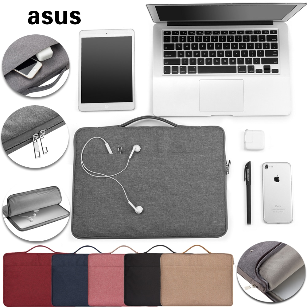 Laptop Sleeve Bag for ASUS VivoBook S14/S15/S200 S200e/X202E/VivoTab/X102BA/X401/ZenBook 13/3/UX21E Anti-fall Laptop Bag