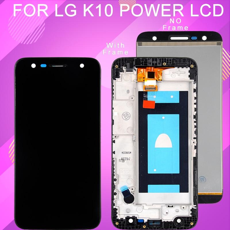 Catteny 5,5 pulgadas M320 pantalla Lcd para LG X Power 2 pantalla Lcd con digitalizador táctil montaje k10 Power Display con marco