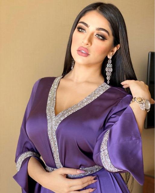 Dubai  Long Dress Loose Diamond Full Sleeve Islamic Arab Muslim Pakistan Pakistan Pakistan Abaya Dress Morocco Ramadan Eid Party 4