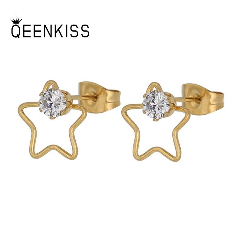 Ювелирные-изделия-qeenkiss-eg8147-2021-оптовая-продажа-модные-женские-и-мужские-серьги-гвоздики-из-титановой-стали-со-звездой-и-цирконием-подарок
