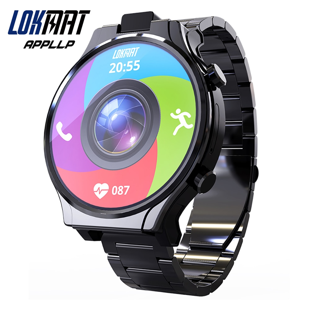 Promo LOKMAT APPLLP PRO Android Smart Watch Phone 2.1 inch Full Round Touch Screen Rotating13M Camera Wifi 4G Network SmartWatches