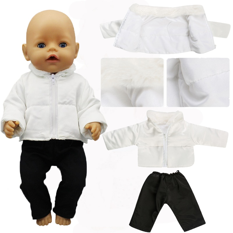 New Jacket Suit Baby new Born Fit 17 inch 43cm Doll Accessories For Baby Gift