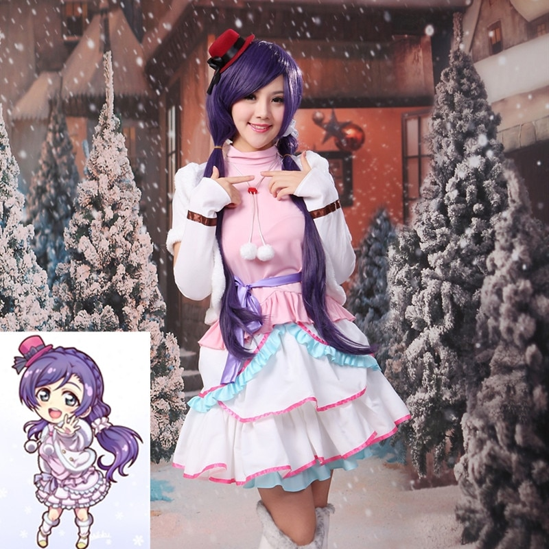 Amor Ao Vivo! Neve halation nozomi tojo cosplay traje uniforme outfit trajes de halloween para meninas femininas fantasia vestido terno diário