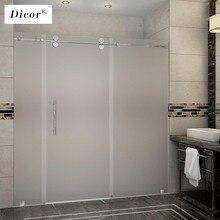 200CM*40/50/60 Film de fenêtre givré pas de colle auto-adhésif vinyle statique accrocher confidentialité verre porte autocollant salle de bains pour la décoration intérieure