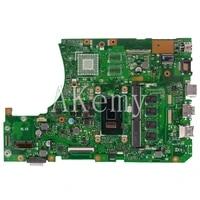 new x556uak laptop motherboard for asus x556uqm x556uv x556uqk x556uf x556uj x556ub original mainboard ddr4 4g ram i5 7200u