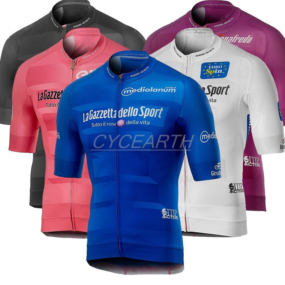 Tour de ITALIA 2019 Ciclismo camisetas de manga corta de verano tops mtb Ciclismo camiseta Ropa Maillot Ciclismo Racing Ropa