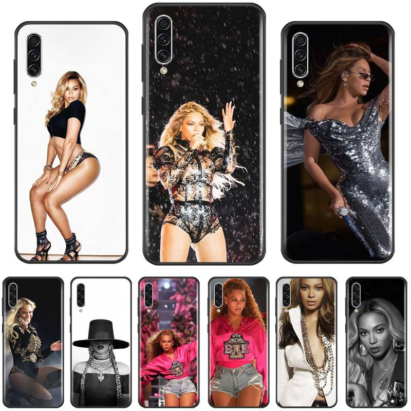 Beyonce USA singer actor Custom Photo Soft Phone Case For Samsung A20 A30 30s A40 A7 2018 J2 J7 prime J4 Plus S5 Note 9 10 Plus
