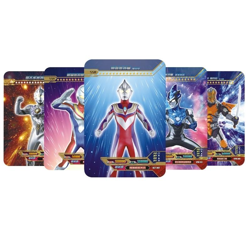 Коллекционная карта Ultraman, книга, звездная флэш-карта из принта, CP Золотая карта, полный набор из серии Glory, 3D карта, коллекционная карта, игруш...