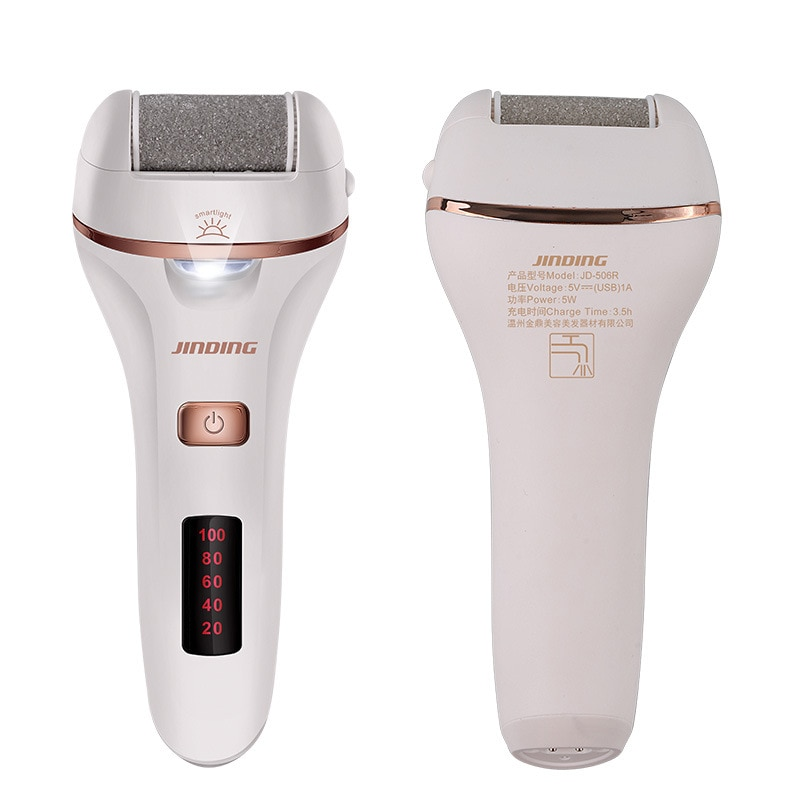 Electric Callus remover Foot Grinder Peeling Callus USB Charging Feet Pedicure Machine Digital Display Foot care Tool enlarge