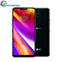 "Unlocked Original LG G7 LG G7+ ThinQ G710VM/G710N/ G710EAW LTE Android Octa Core 6.1"" 3 Camera 16MP Smart Phone 3000mAh"
