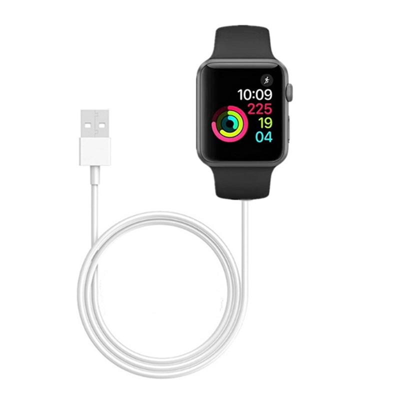 1M /3.3 Ft Portable Smart USB Watch Charger Cable Magnetic Wireless Charging Dock for Apple iWatch S