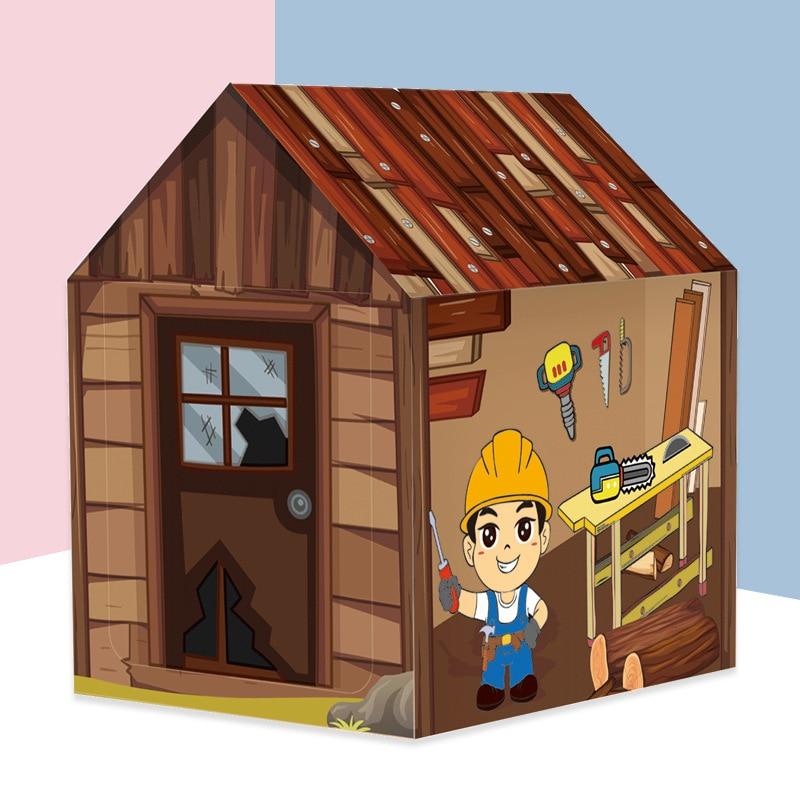 kit tenda de brinquedo educacional brinquedos para meninos ferramenta de reparo de