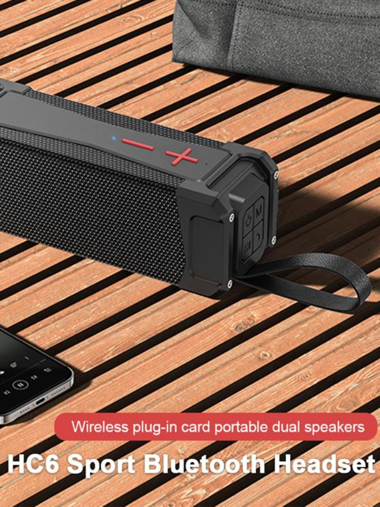 Portable Bluetooth Speaker Outdoor Bluetooth 5.0 High Quality Sound Subwoofer Speaker 4000mAh TF/FM/AUX For Phone/PC enlarge