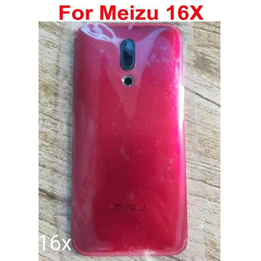 100% Original para Meizu 16X16 X M872Q M872H batería cubierta trasera carcasa trasera + marco para cámara + adhesivo
