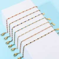 zmzy boho handmade stainless steel bracelets for women seed beads bracelet boho ethnic weave jewelry friendship gifts
